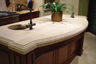exotic marble kitchen